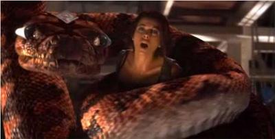 scene Angel python nude vs boris boa