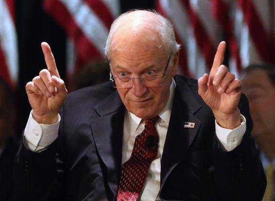 Is dick cheney really the president